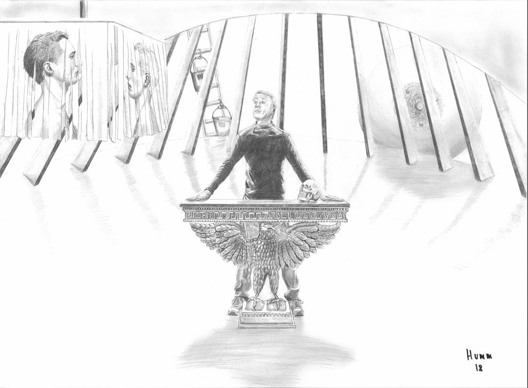 Philipp Humm   The Last Faust Pencil Drawings